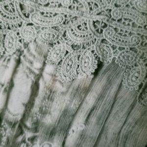 BHLDN Dresses - Anthropologie BHLDN Joni Sage Formal Silk Dress